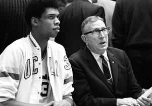Abdul-Jabbar and John Wooden