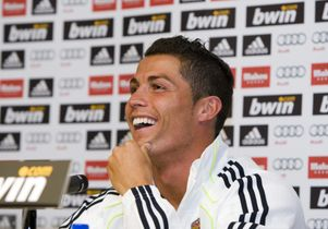 Cristiano Ronaldo at UCLA
