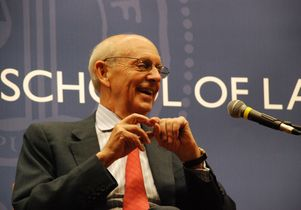 Justice Stephen Breyer at UCLA School of Law