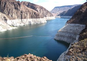Lake Mead after 11 years of drought