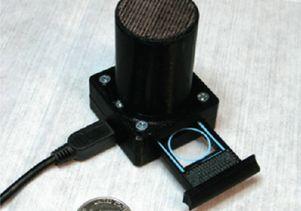 Lens-free telemedicine microscope