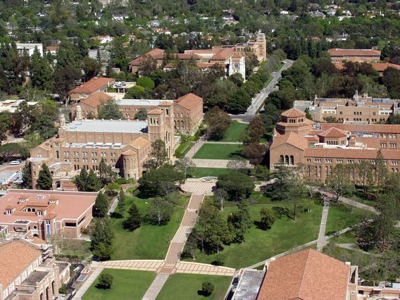 UCLA aerial view
