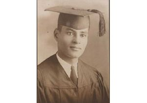 Ralph Bunche graduation in 1927