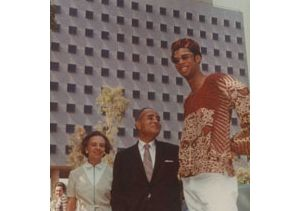 Kareem Abdul-Jabbar with Bunche