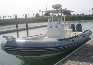 UCLA's Zodiac research boat