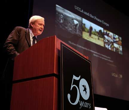 Chris Matthews at Peace Corps event