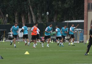 Real Madrid practice