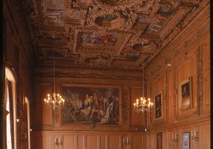 Clark Library chamber music drawing room
