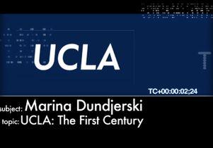UCLA Uncut: Marina Dundjerski