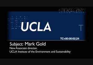 UCLA Uncut: Mark Gold