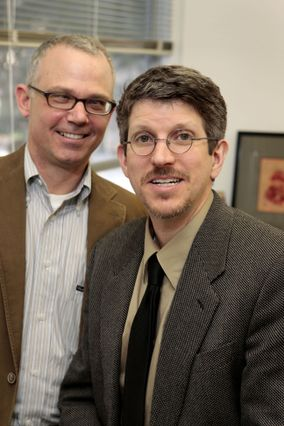 Thomas Bradbury (left) and Benjamin Karney
