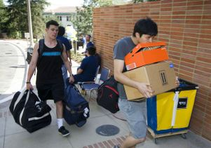 New residence hall move-in