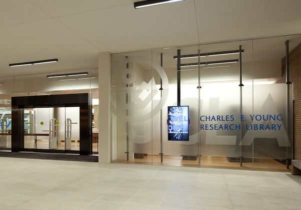 Research Library entrance