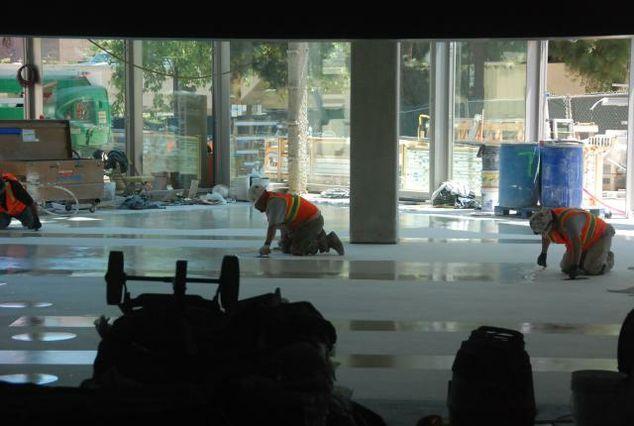 Pauley Pavilion construction