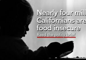 Food insecurity in California