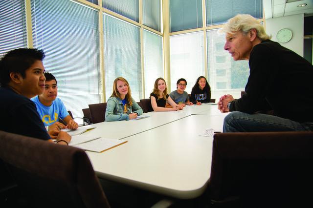 UCLA's Bob Goldberg and online instruction