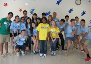 Angelus Plaza volunteers