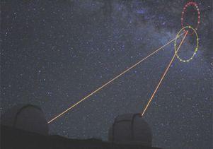 Stars orbiting Milky Way's black hole
