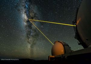 Keck telescopes