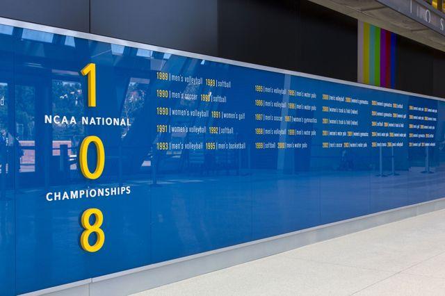 Championships wall