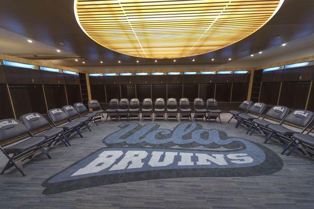Bruins locker room