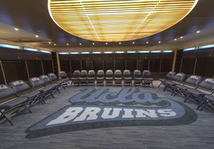 Bruins locker room