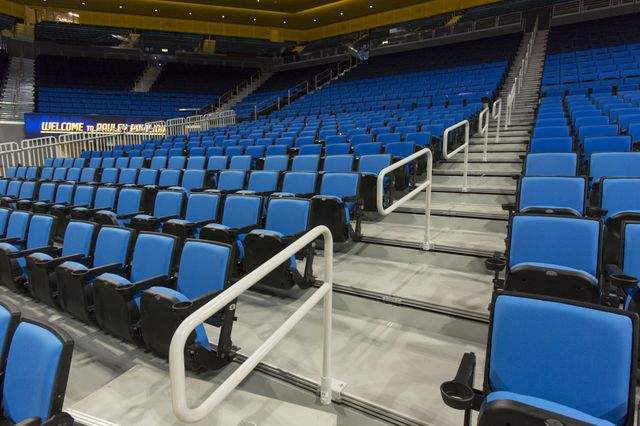 New Pauley Pavilion handrails