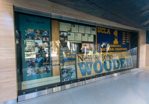 Nell and John Wooden wall