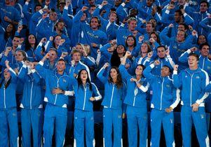 Athletes parade in new Pauley Pavilion