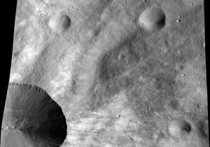 Vesta as seen by Dawn