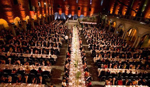 Shapley Nobel banquet