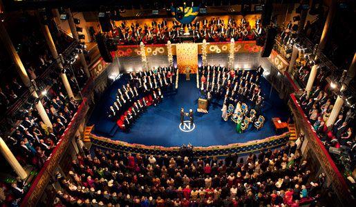 Nobel ceremony for Lloyd Shapley