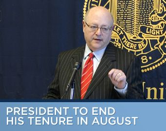 Mark Yudof to end his tenure