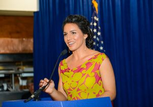 Congresswoman from Hawaii and military veteran Tulsi Gabbard