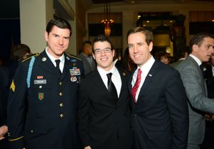 Team Rubicon representatives and Delaware Attorney General Beau Biden