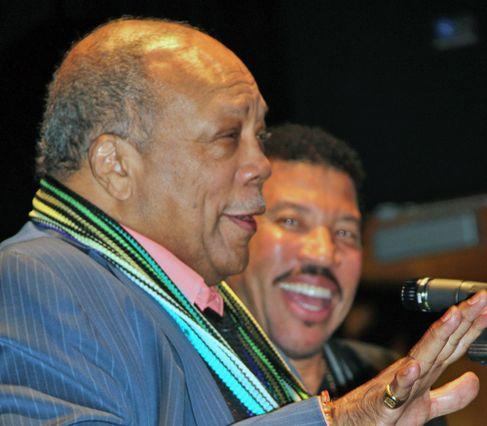 Quincy Jones and Lionel Richie