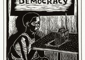 'Vote for Democracy,' Hamilton Budaza (1994)