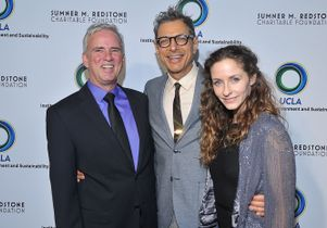 Glen MacDonald, Jeff Goldblum and Emilie Livingston
