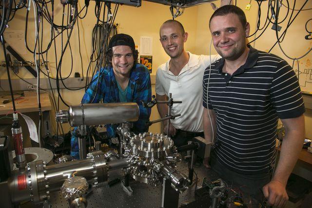 In Hudson's lab