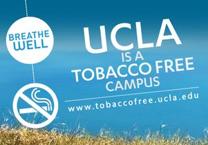 UCLA is a tobacco-free campus