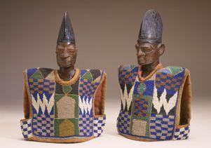 Twin memorial figure (ere ibeji)
