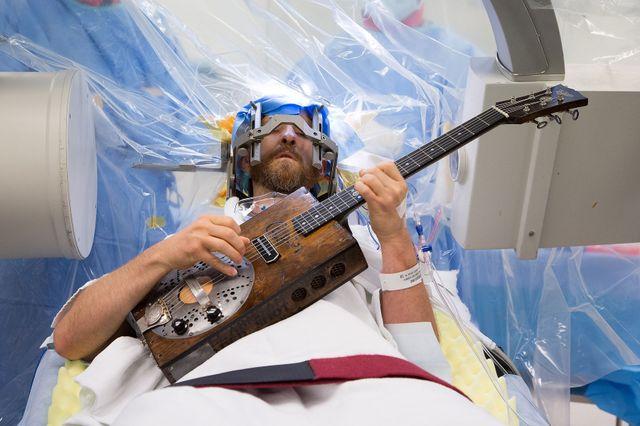 Deep brain stimulation - guitar