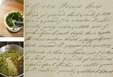 Green pease soop