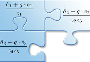 Mathematical jigsaw puzzle