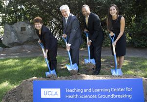 Teaching and Learning Center groundbreaking