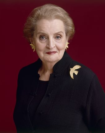 Former Secretary of State Madeleine Albright accepted the UCLA Medal