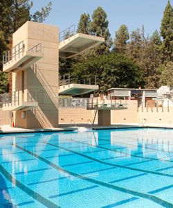 New competition pool a win for athletes rec swimmers ucla for Pool durchmesser 4 50