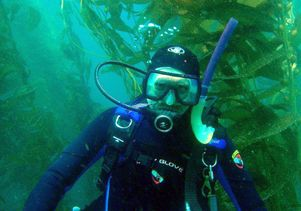 Rich in Anacapa Island kelp bed by Joe Wible