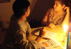 Mentoring Gulbarga by candlelight