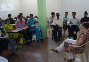 teaching class-india